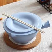 泡麵碗 竹纖維日式泡面碗帶蓋比陶瓷好湯碗飯碗家用大碗大號吃湯面泡面杯
