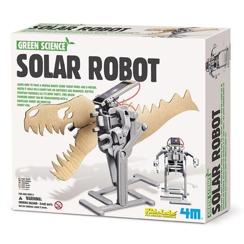 【4M】Green Science - Solar Robot 太陽能機器人