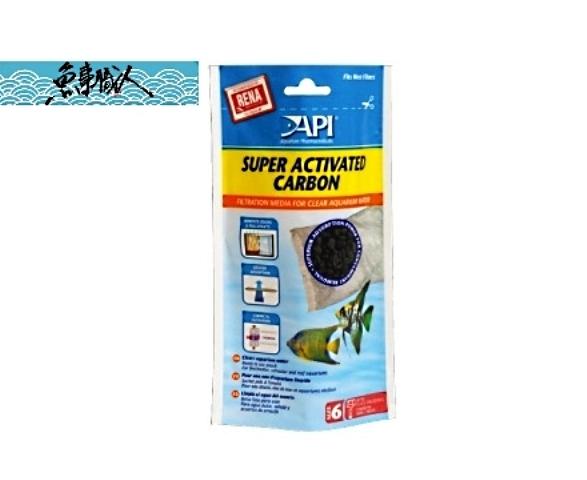 API魚博士 強效活性碳素【100g】淨化水質 脫色 除臭 外掛 圓桶過濾器 替換 濾材 魚事職人