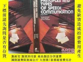 二手書博民逛書店principles罕見and types of speech