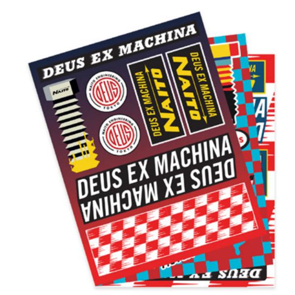 DEUS|配件 NAITO STICKER SHEETS 貼紙
