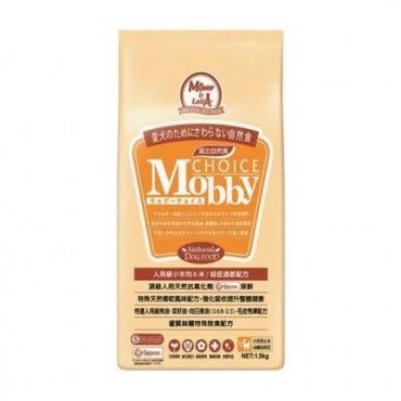Mobby 莫比 肥滿犬高齡犬 羊肉米 自然食飼料 1.5kg X 1包