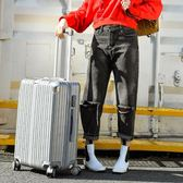 北愛旅行箱萬向輪拉桿箱行李箱女男20密碼箱包24寸學生28皮箱子  米娜小鋪 IGO