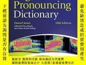 二手書博民逛書店Cambridge罕見English Pronouncing Dictionary With Cd-romY2