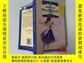 二手書博民逛書店Alice罕見in Wonderland:愛麗絲夢遊仙境Y200392