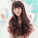 大眼娃娃~附修臉設計長捲髮【MA072】HOT!材質再升級新耐熱假髮☆雙兒網☆