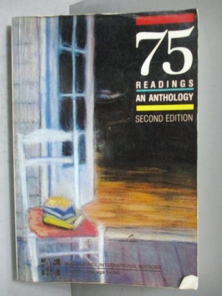 【書寶二手書T7/原文小說_KCS】75 Readings an Anthology Second Edition