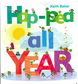 【麥克書店】HAP-PEA ALL YEAR/硬頁書《月份/季節》