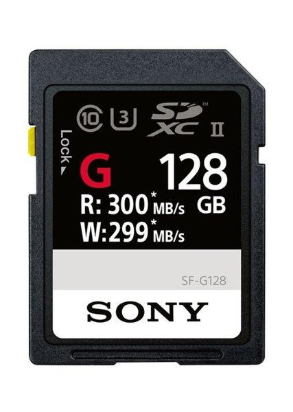 【震博】Sony SF-G128 SDXC 128GB Class10 支援 4K 錄影高速記憶卡 (台灣索尼公司貨)