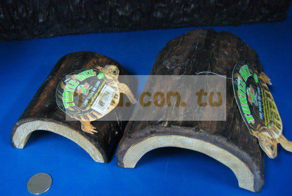 【西高地水族坊】ZOO MED(ZOOMED) 爬蟲專用棲息木屋(M)新款