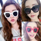 【TT】新款圓形太陽鏡女 圓臉韓版複古網紅彩色墨鏡女潮明星款太陽眼鏡