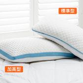 雙效抗菌立體釋壓記憶枕 加高型