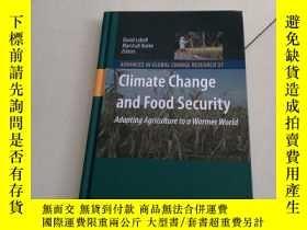 二手書博民逛書店Climate罕見Change and Food Securit