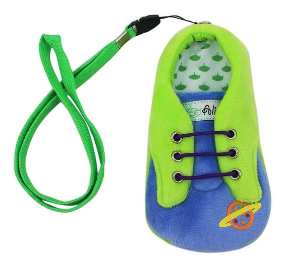 【卡漫城】 三眼怪 絨毛 手機袋 ㊣版 4.7吋 保護袋 票卡包 掛繩 Alien 玩具總動員 iphone7/8/SE