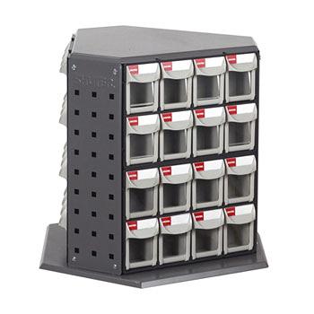 [ 家事達 ] 樹德 RFO-848  零件快取盒旋轉架- 48格抽屜   特價  收納箱/整理箱