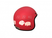EVO 智同 CA-309 309 粉紅豬 粉紅 豬 豬年 生肖 豬年行大運 可愛 安全帽 復古帽 騎士帽 (多種顏色)