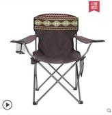 戶外折疊椅子便攜迷你釣魚沙灘椅簡易凳子月亮椅
