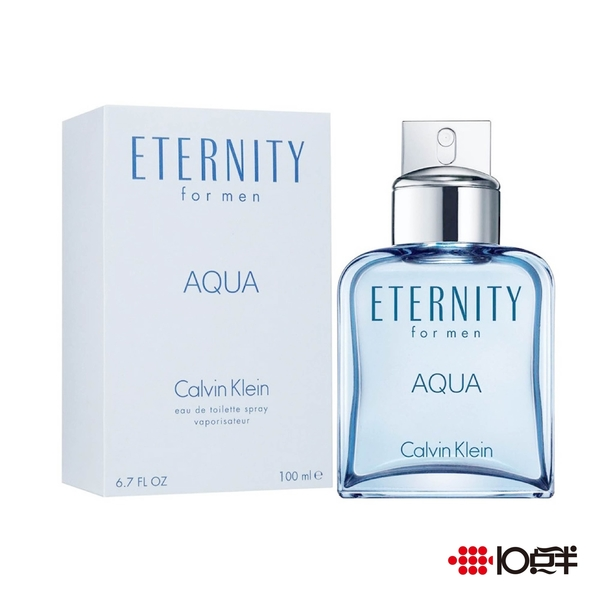Calvin Klein Eternity Aqua 永恆之水男性淡香水 100ml *10點半美妝館*