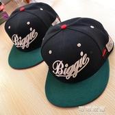 美國潮牌BIGGIE棒球帽SNAPBACKbboy帽子嘻哈hiphop街舞平沿帽子 交換禮物