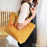 包包女2020新款百搭韓國東大門狗牙包大容量購物袋單肩手提拖特包