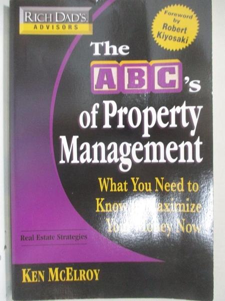 【書寶二手書T1/大學商學_D3J】The ABC's of Property Management: What You Need to…