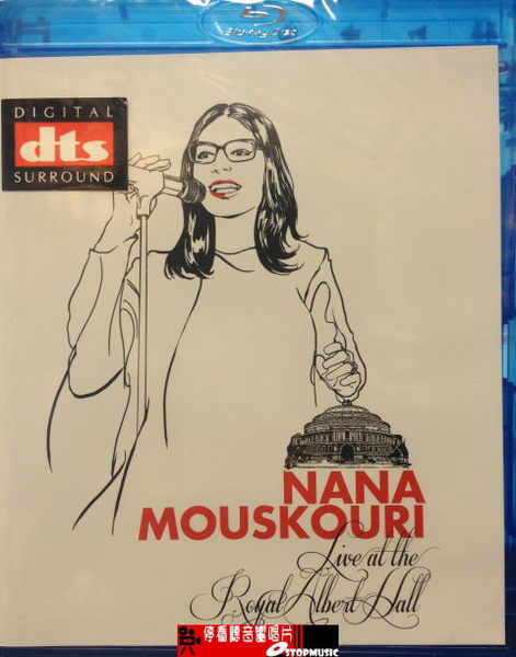 【停看聽音響唱片】【BD】娜娜:皇家亞伯廳演唱會 Nana Mouskouri Live At The Royal Albert Hal