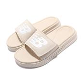 New Balance 拖鞋 1501 奶茶色 男鞋 女鞋 厚底 NB 涼拖鞋 紐巴倫 【ACS】 SD1501GSRM