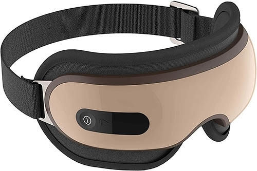 Breo【日本代購】眼部按摩器熱 眼部保暖器 USB充電 音樂播放