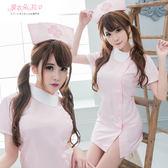 護士服 中大尺碼制服 情人節角色扮演 側扣式洋裝-愛衣朵拉