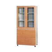 【YUDA】WN3+WG2 鋼木大櫃 上玻下開三層 鐵櫃 文件櫃/展示櫃/公文櫃