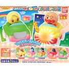 全套5款【日本正版】麵包超人 發光與搖頭小車 P2 扭蛋 轉蛋 玩具車 細菌人 BANDAI 萬代 - 419839