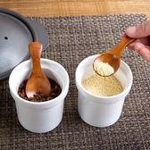 木質調料勺家用餐具木勺子兒童小調羹