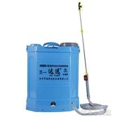 噴藥機 電動噴霧器小型農用背負式電動打藥機高壓噴霧器鋰電池農藥噴灑器YYJ 育心館