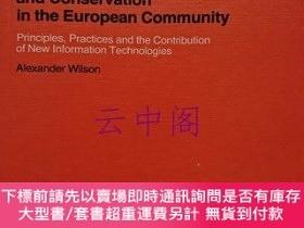 二手書博民逛書店【洋書】Commission罕見of the European CommunitiesLibrary Policy