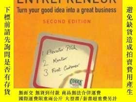 二手書博民逛書店The罕見Beermat Entrepreneur: Turn Your Good Idea Into A Gre