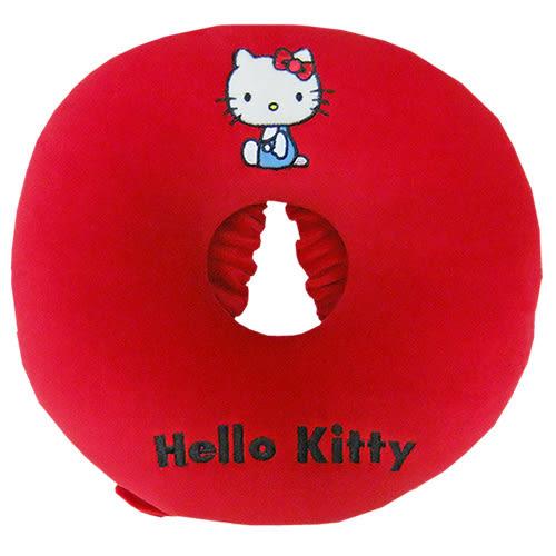 【享夢城堡】HELLO KITTY 圓形頭枕