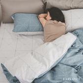 【預購】兩用被套床包組-雙人【克卜勒】ikea風格 100%精梳棉 工業風 純棉 翔仔居家