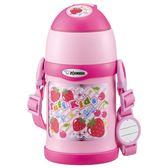 日本 【ZOJIRUSHI 象印】兒童保溫保冷壺/吸管杯-粉紅450ml SC-ZT45