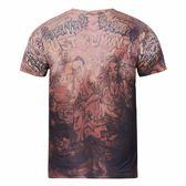 jr史密斯紋身上衣騎士詹姆斯球衣紋身圖案科比短袖男T恤JRt恤潮男