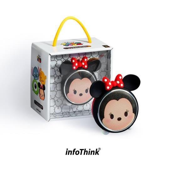 Info Think TSUM TSUM 玩音樂藍牙燈光喇叭-米妮 Minnie