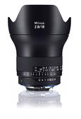 6期零利率 Zeiss 蔡司 Milvus 2.8/18 ZF.2 18mm F2.8 ZF2 鏡頭 For Nikon 石利洛公司貨