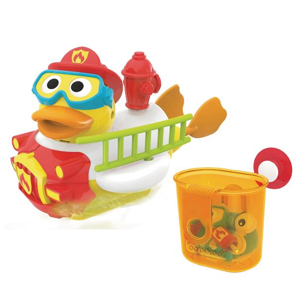 以色列 Yookidoo 戲水玩具-神鴨救援俠|洗澡玩具