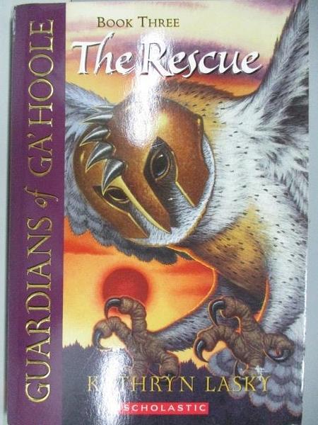 【書寶二手書T5/原文小說_ACK】Guardians of Ga hoole-The Rescue