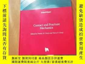 二手書博民逛書店Contact罕見and Fracture MechanicsY