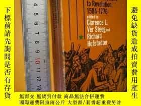 二手書博民逛書店英文原版罕見Great Issues in American History, Vol. I: From Sett