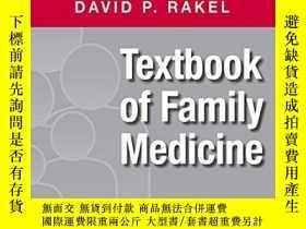 二手書博民逛書店Textbook罕見of Family Medicine 家庭醫