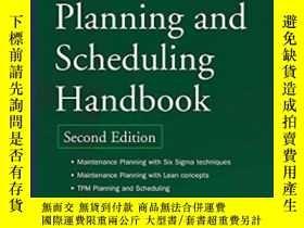 二手書博民逛書店Maintenance罕見Planning And Scheduling HandbookY364682 Pa