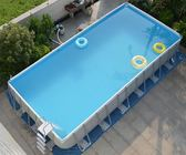 INTEX支架游泳池加厚兒童家用大型泳池可折疊水池養魚池商用成人