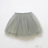 E家人 半身裙短裙蓬蓬裙中小童寶寶舞蹈公主裙