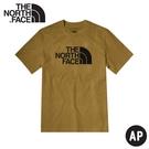 【The North Face 男 短袖棉T《卡其》】4U8Z/排汗快乾/運動衣/圓領衣/休閒衣